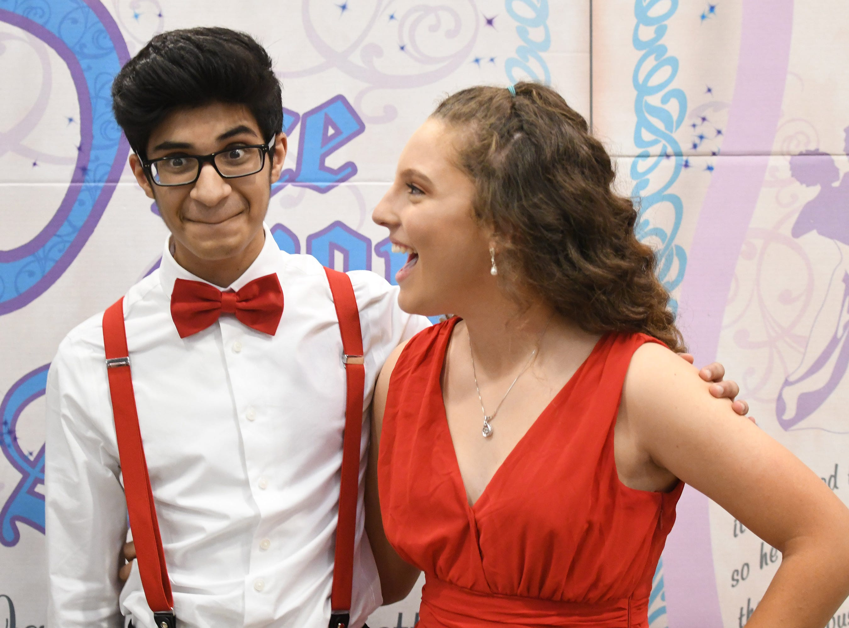 Students and their guests at James M. Bennett High School Homecoming Dance Saturday night at the school in Salisbury. 780 youth attended the annual dance.