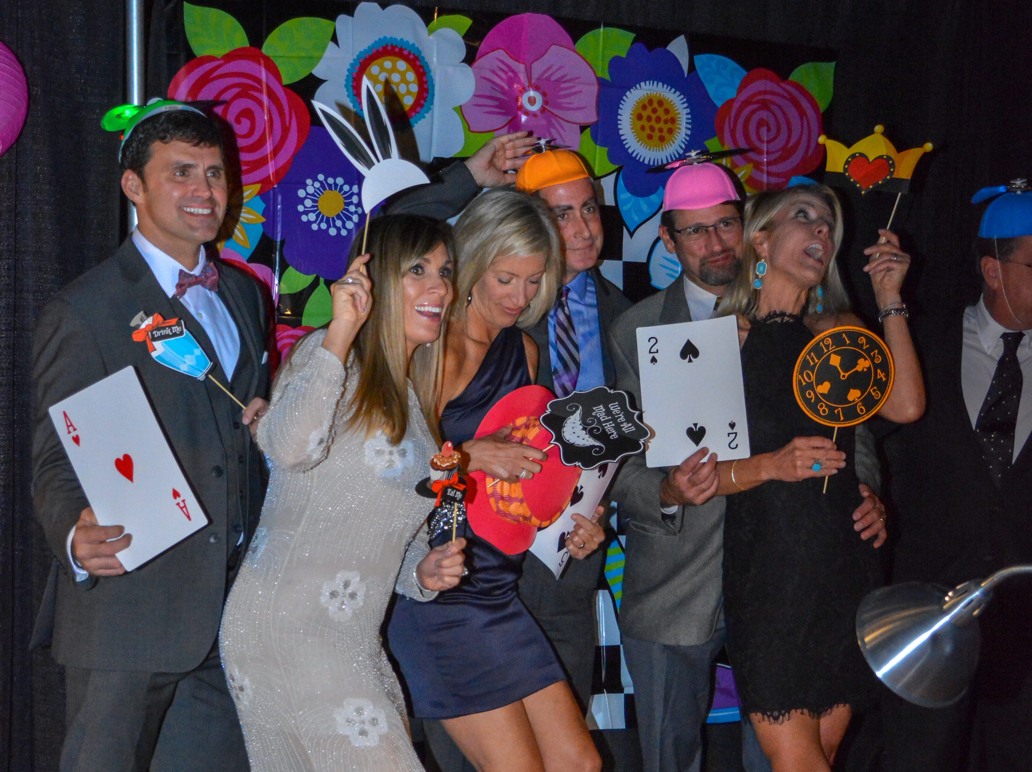 """Guests at the Minds in Motion Museum """"A Wonderland Adventure Gala"""" have fun on Nov. 3, 2018, at the Wicomico Youth & Civic Center in Salisbury, Maryland."""