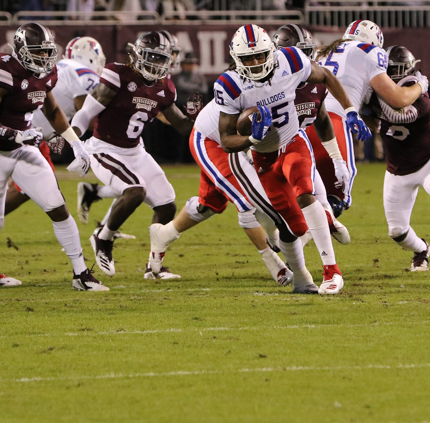 Nick Fitzgerald leads Mississippi State to rout of Louisiana Tech