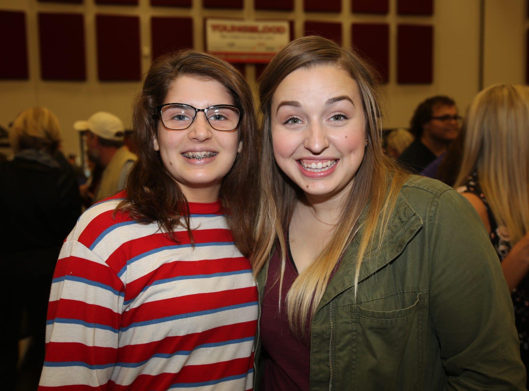 Emily and Lauren Scott