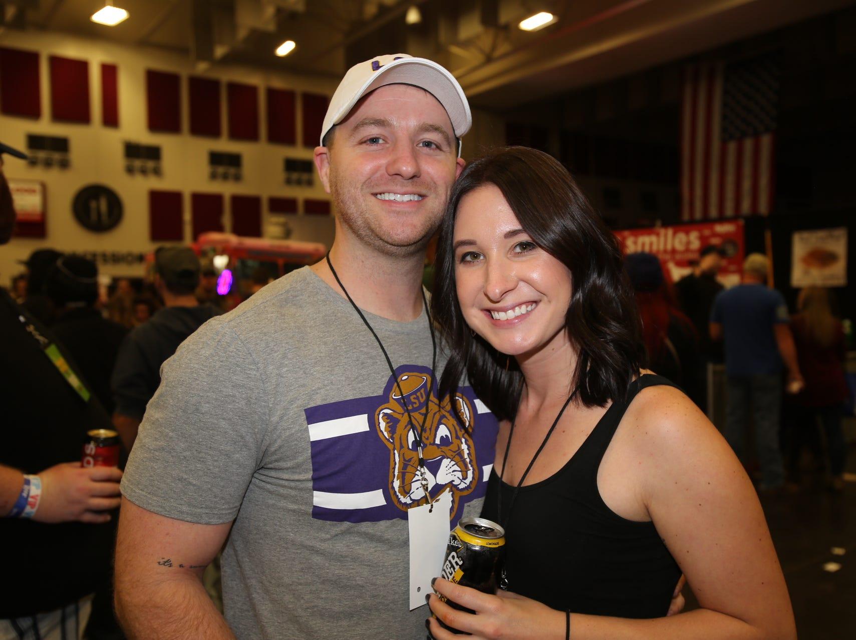 Daniel Heisler and Tamara Bueler