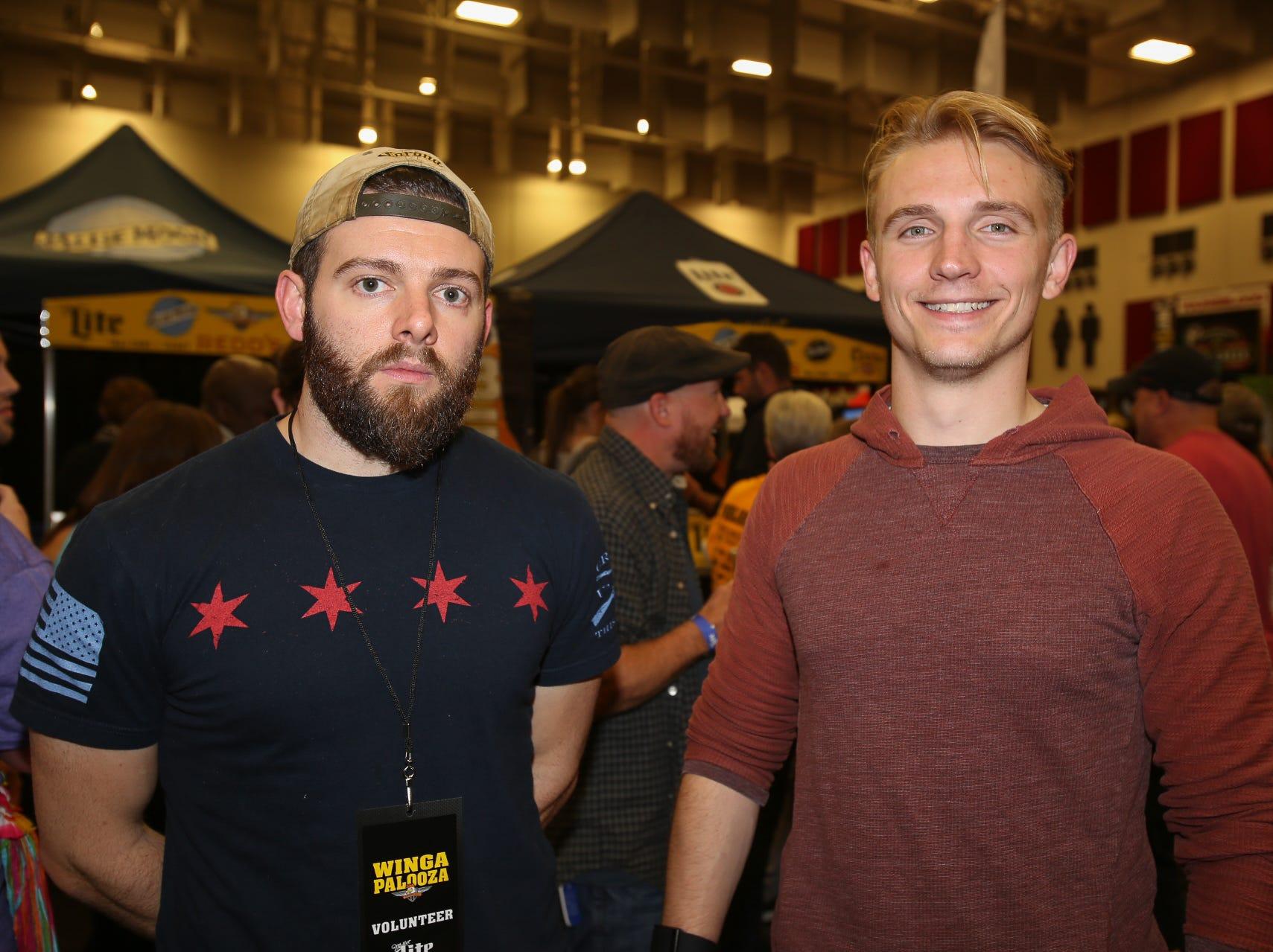 Evan Ryan and Jamse Johnson
