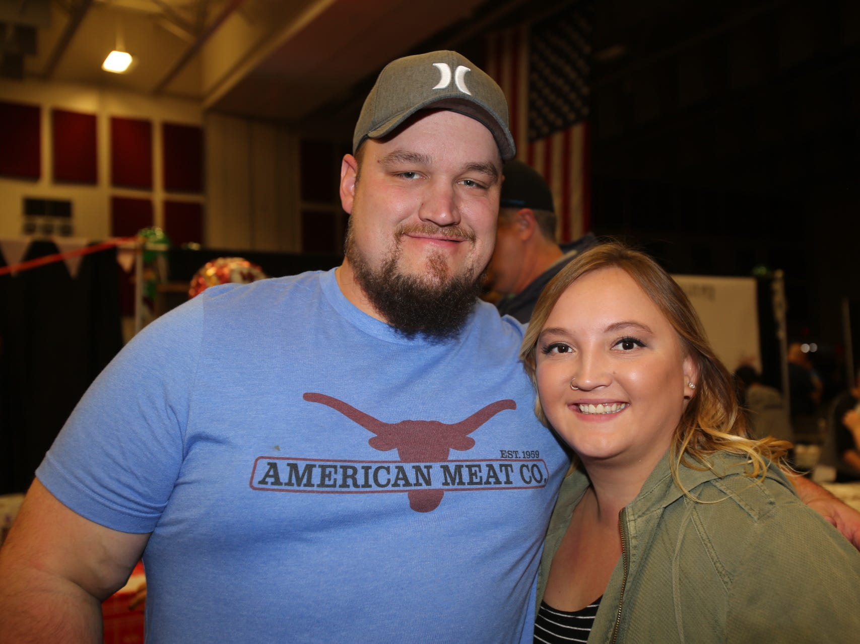 Daniel Jones and Chloe Feldt