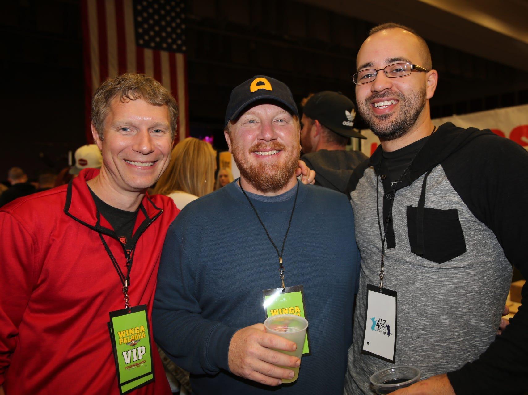 John Paul Chapman, Chris Rohrbaugh, and Joe Forney