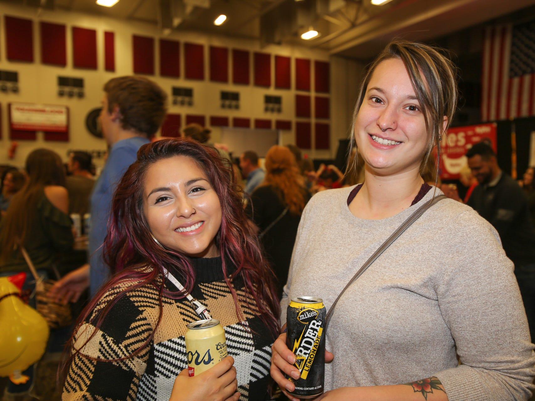Bianca Guevara and Allison Lambert