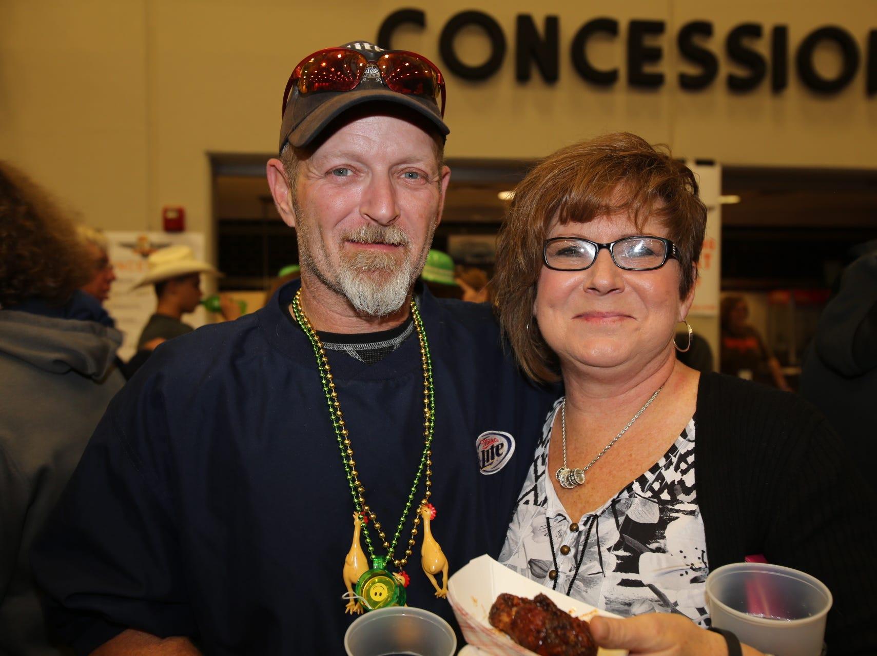 Robert Dureault and Janet Peck
