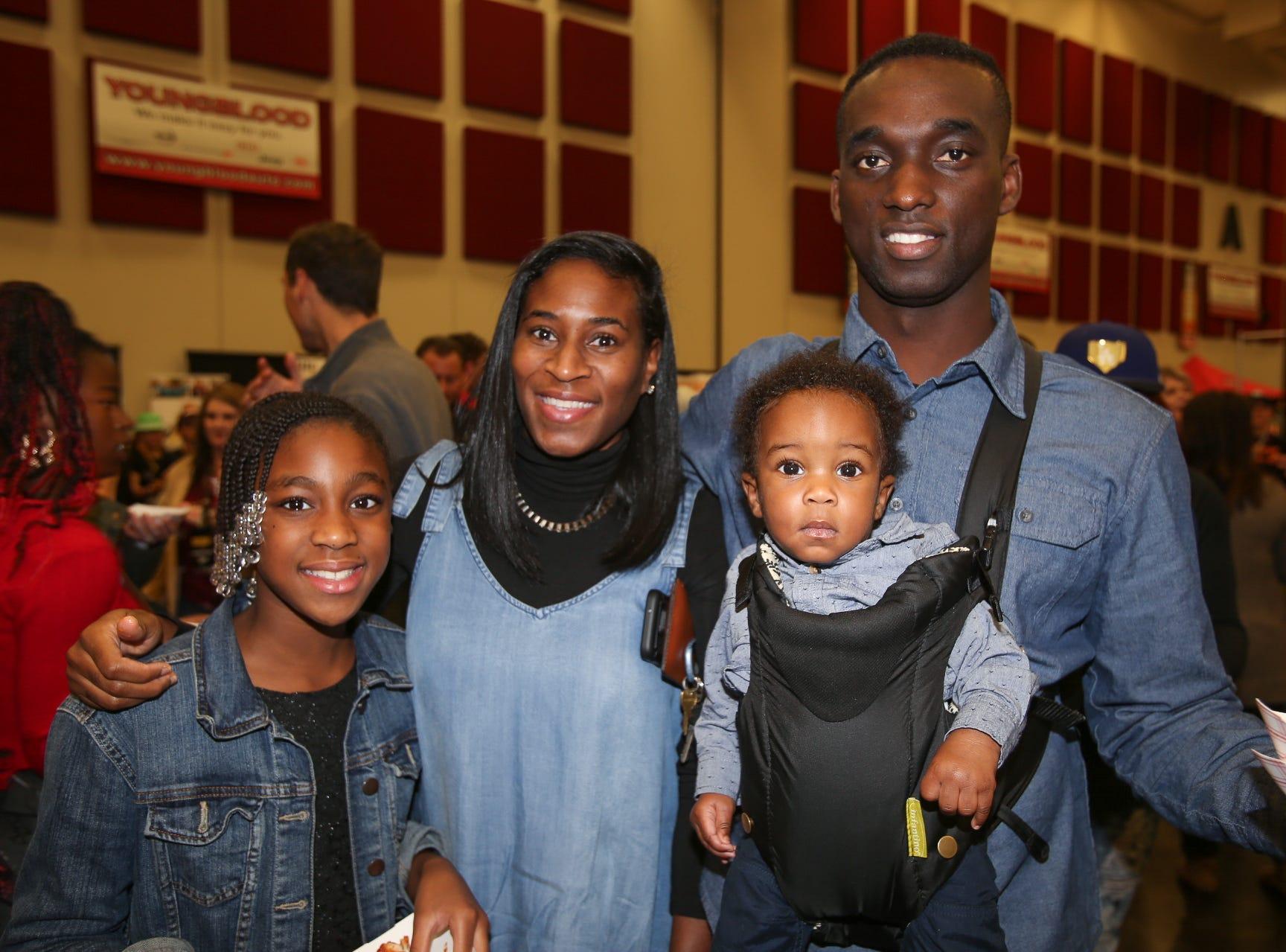 Lesley, George, Aniyah, and Jaden Mensah