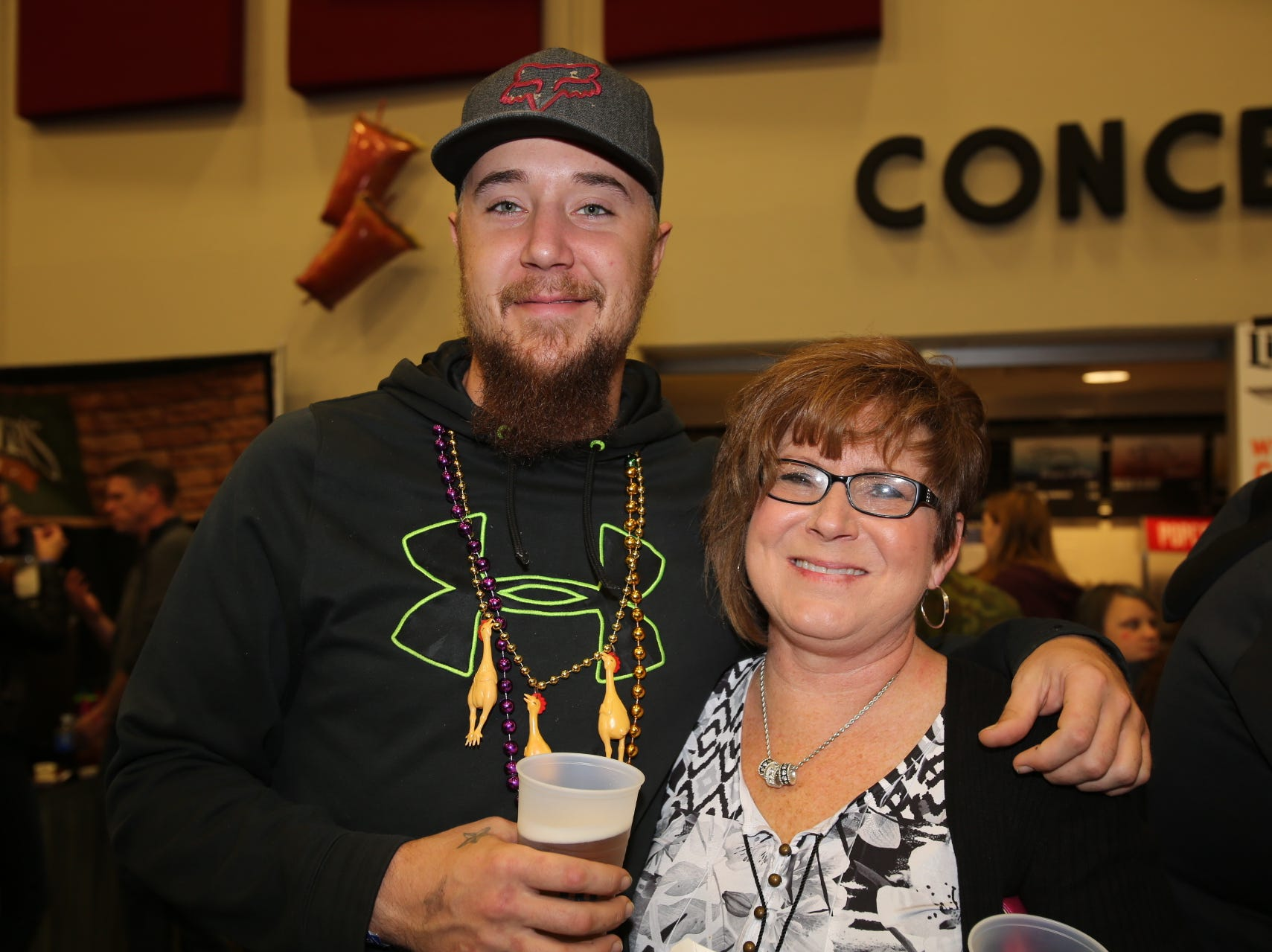Hunter Pritchert and Janet Peck