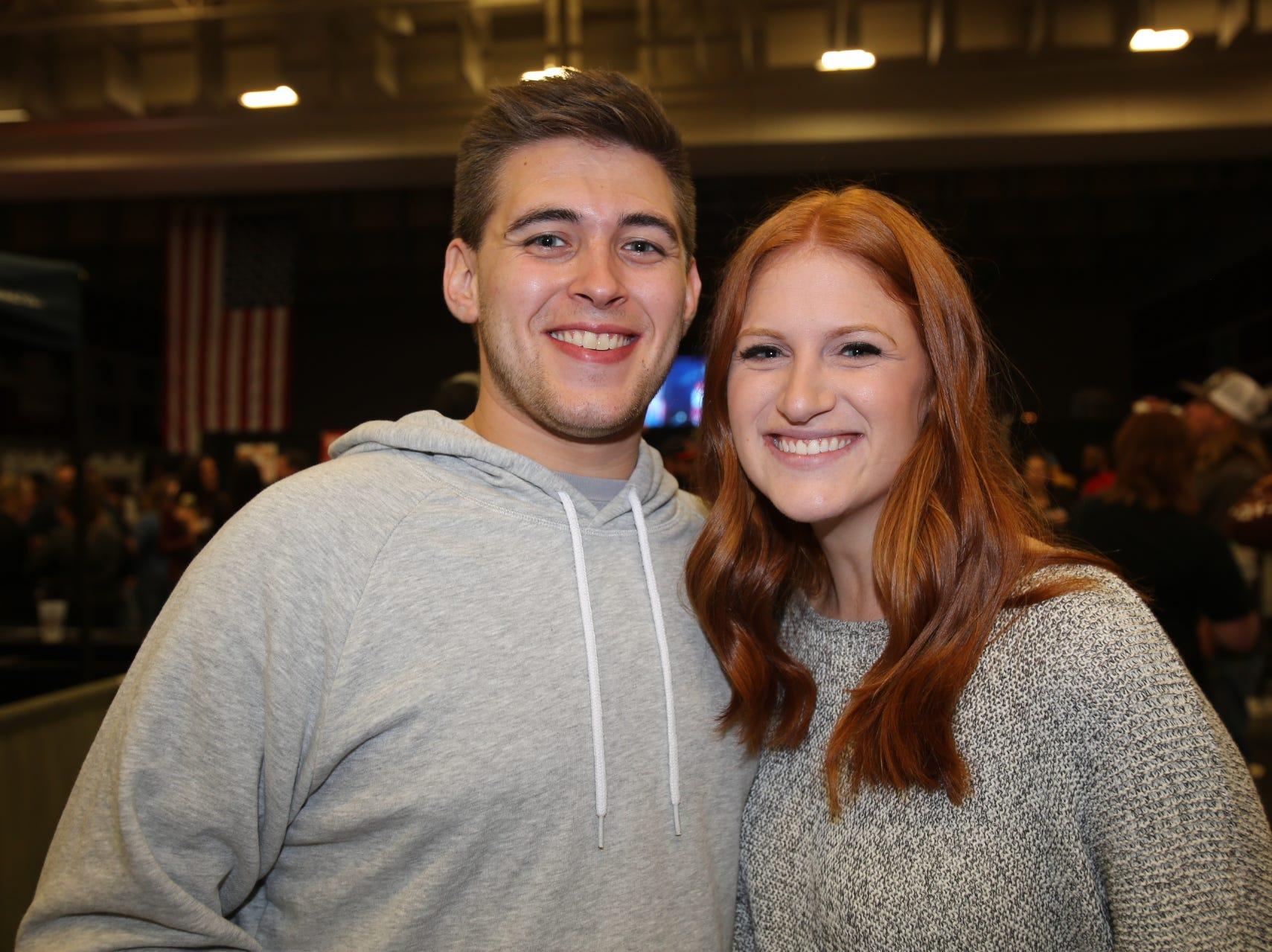Cody Gaston and Sarah Ross