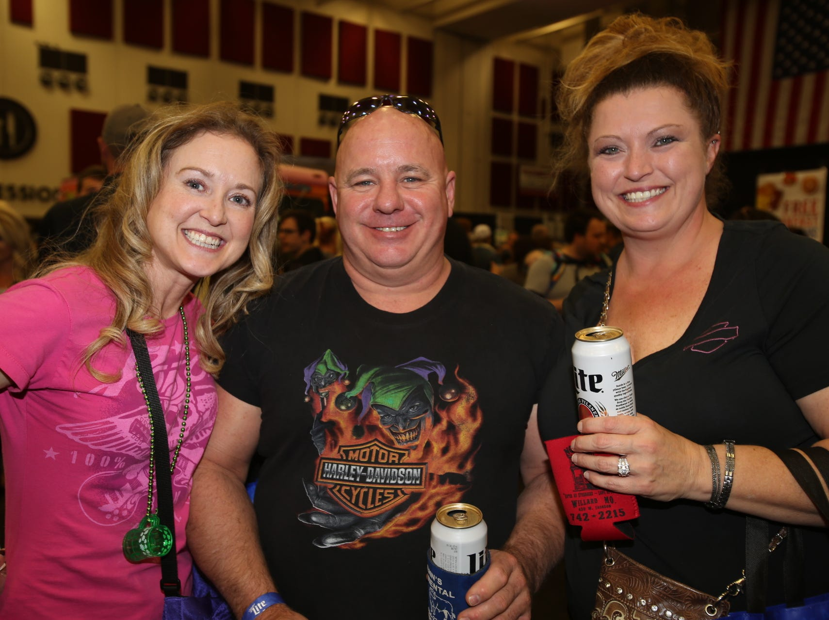Amanda Kerber-Owens, Bill Schooling, and Tammy Williams