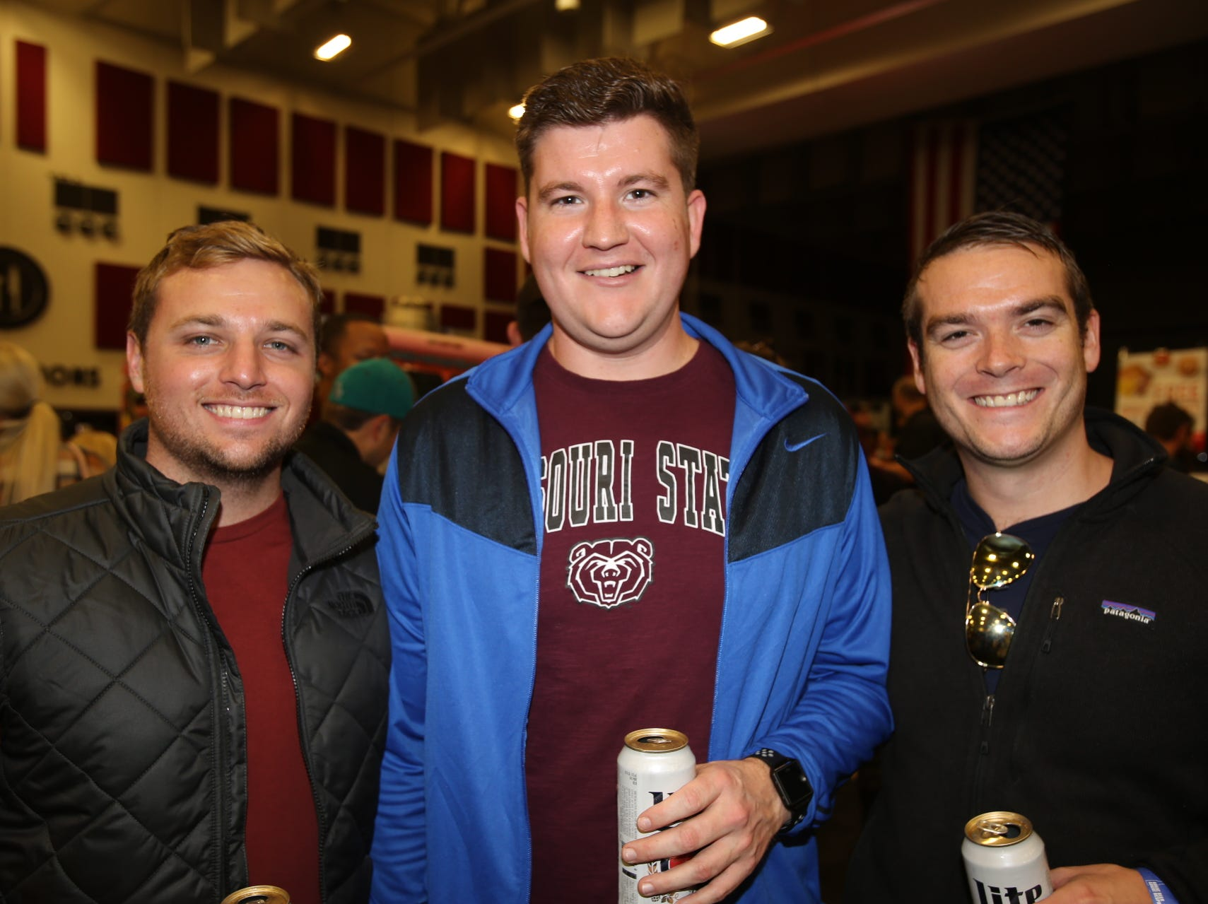 Kyle Borneman, Eric Schmidt, and Justin Hall