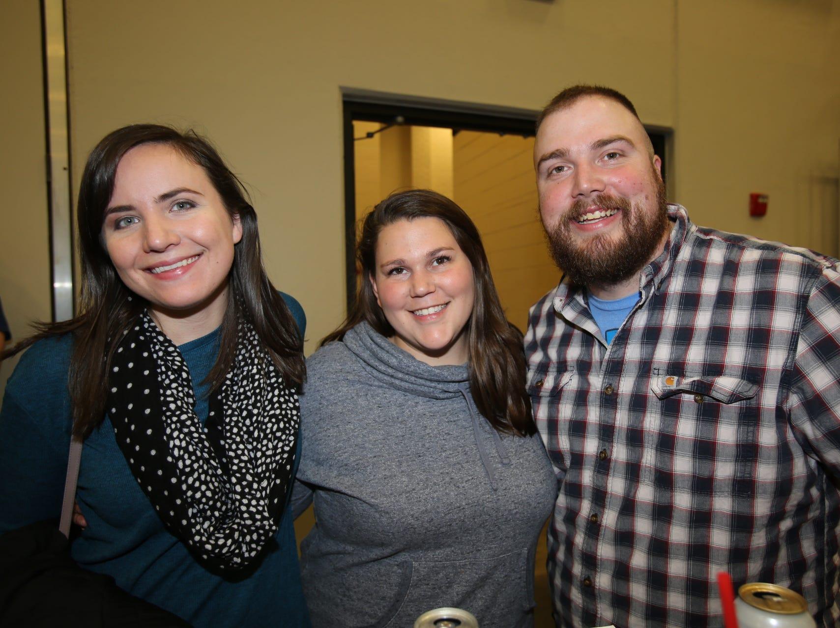 Megan Kocurek and Marisa and Chris Purall