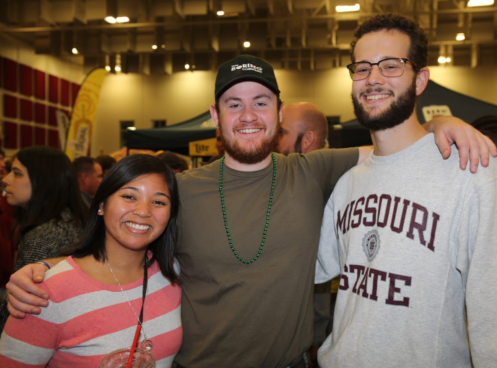 Regina Norris, Aiden Griffin, and Josh Hess