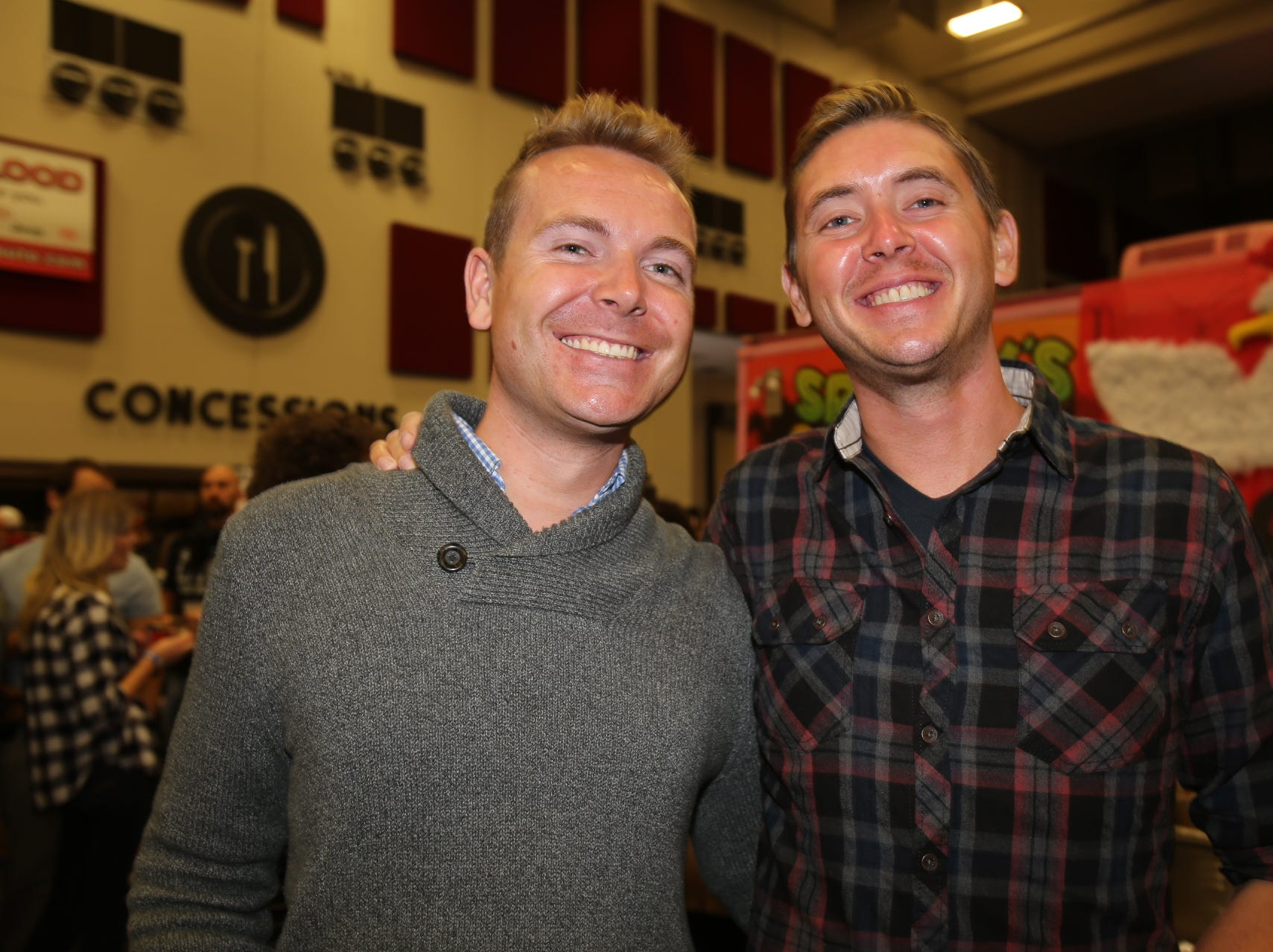 Dustin Beasley and Sean Barnhill