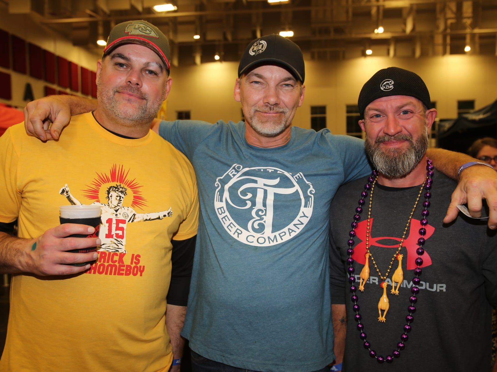 Randall Owens II, Greg Fly, and Mike Garrett