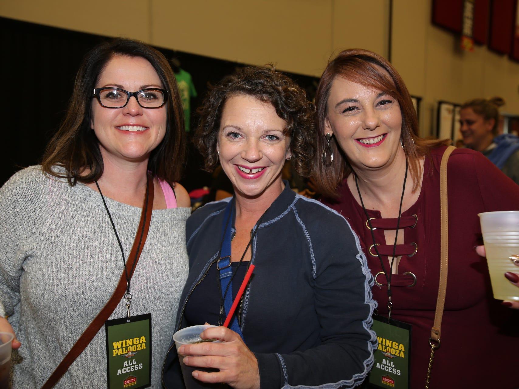 Jessica Livingston, Jamie Jamison, and Bess Kauflin