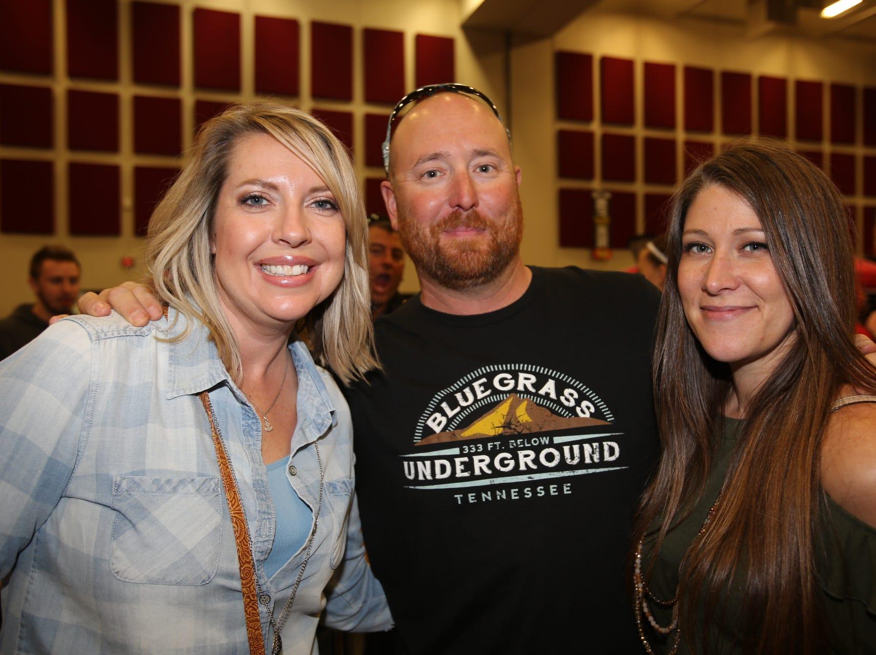 Sara Harp, Matt Berding, and Audra Reimer