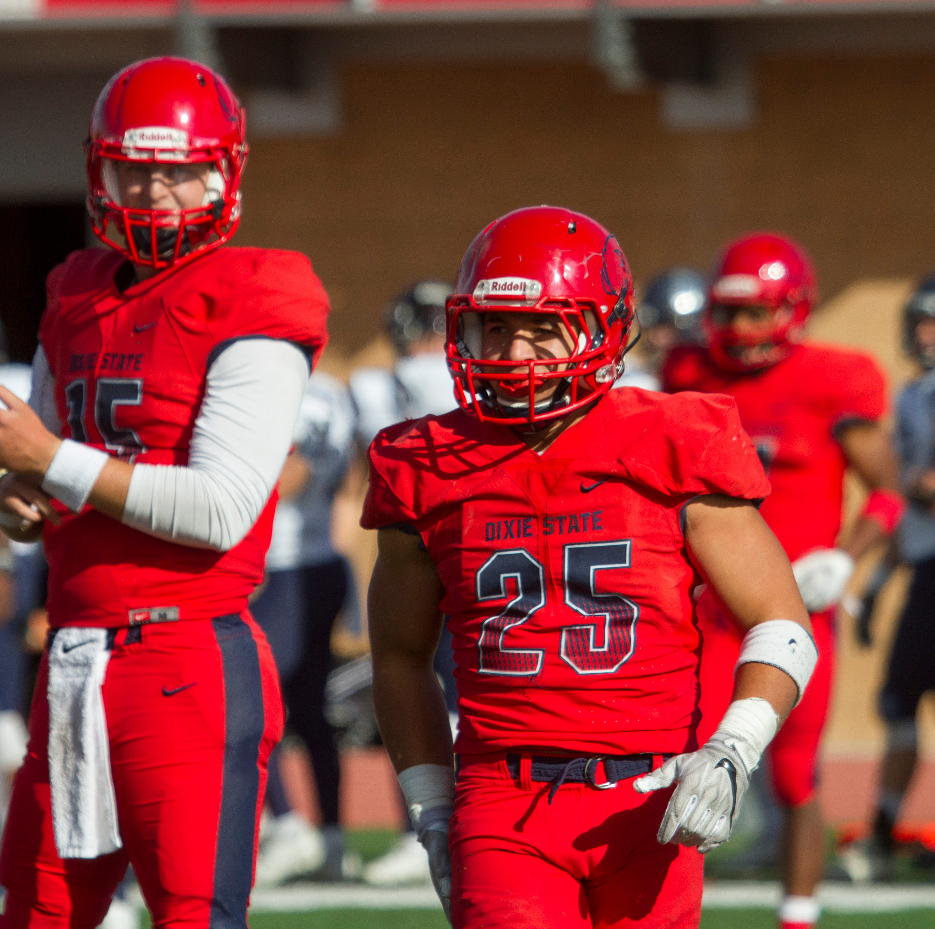 Lauago sets record, Dixie State cruises to win in final game of the season