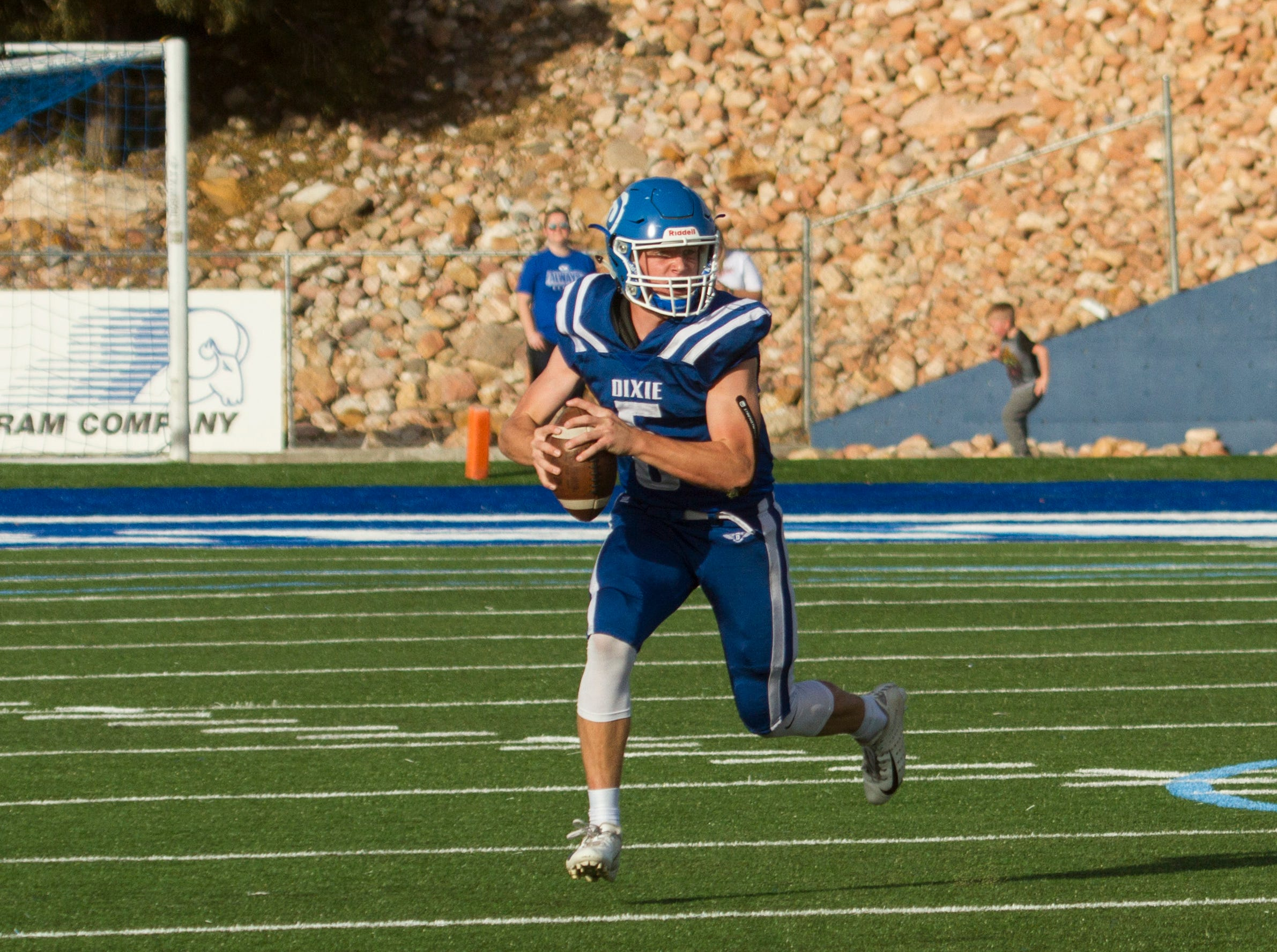 Dixie High football takes on Spanish Fork Friday, Nov. 2, 2018.
