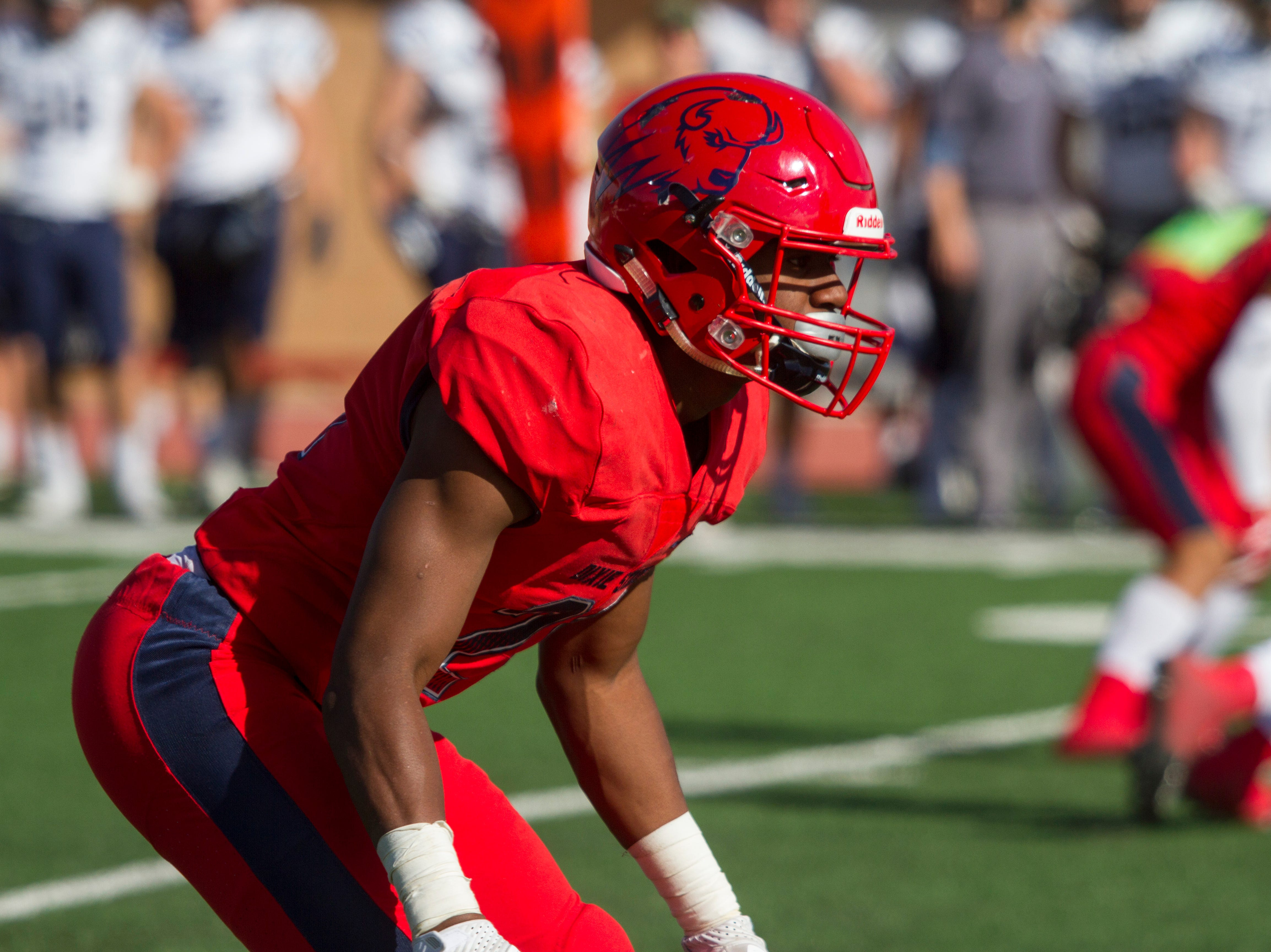 Dixie State University football plays their homecoming game Saturday, Nov. 3, 2018.