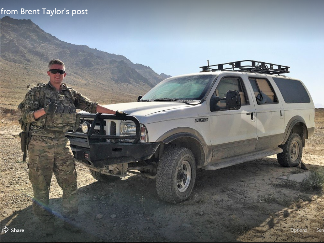 Brent Taylor, a soldier in the Utah National Guard and mayor of North Ogden, was killed in Afghanistan on Nov. 3, 2018, officials say.