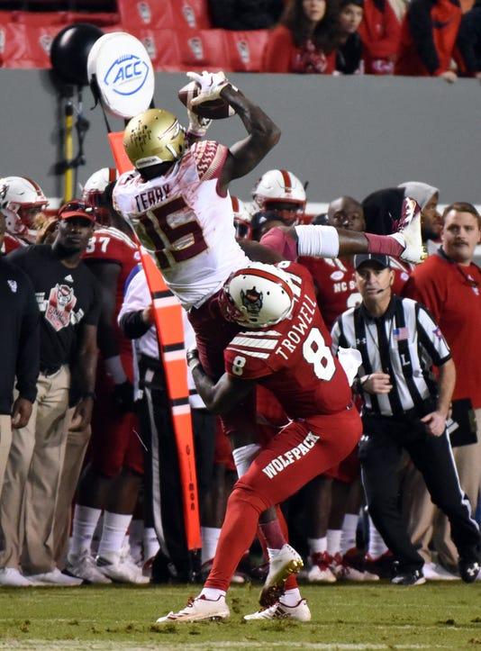 Ncaa Football Florida State At North Carolina State