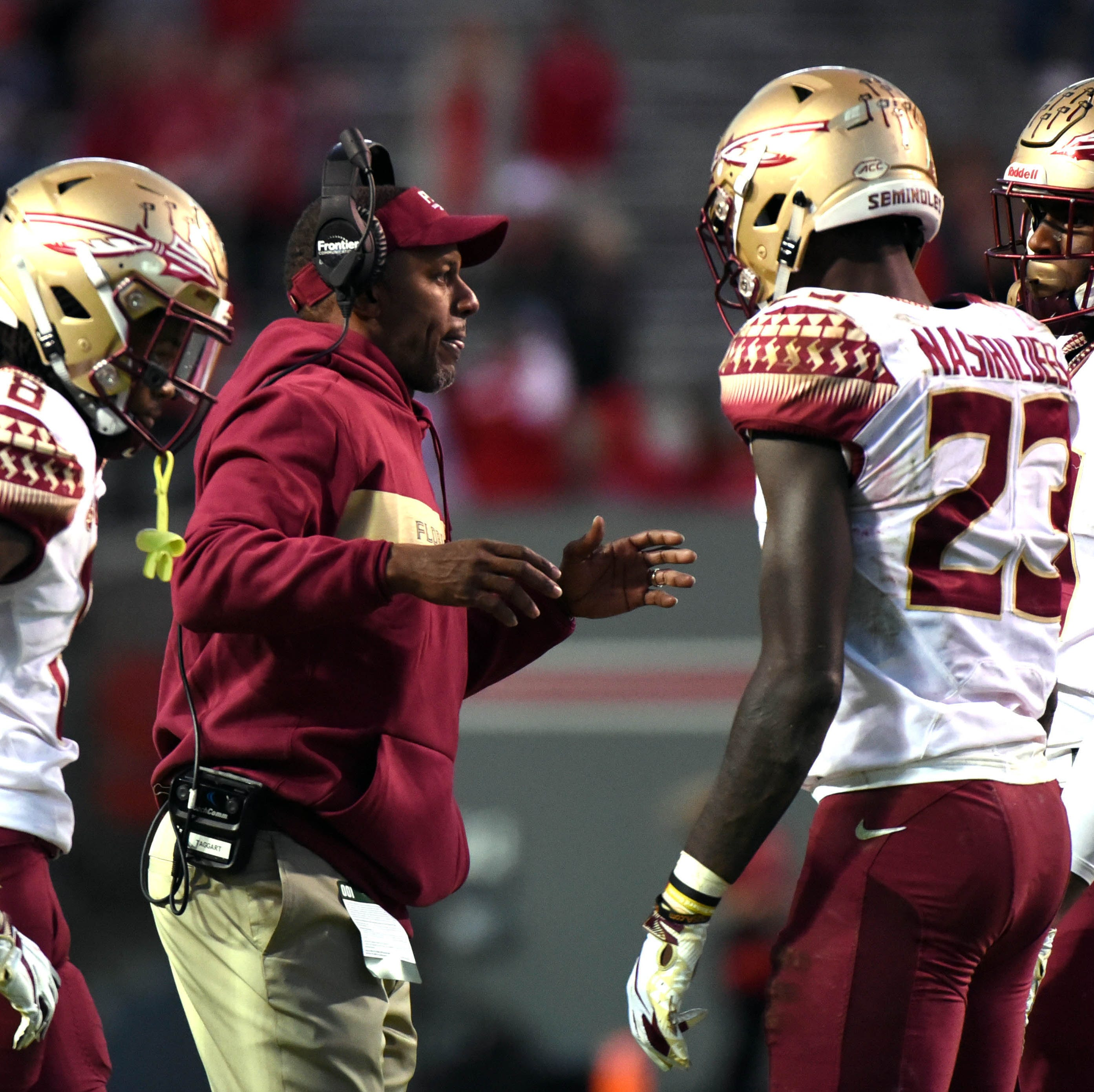What is FSU's Willie Taggart telling recruits about offensive coordinator vacancy?