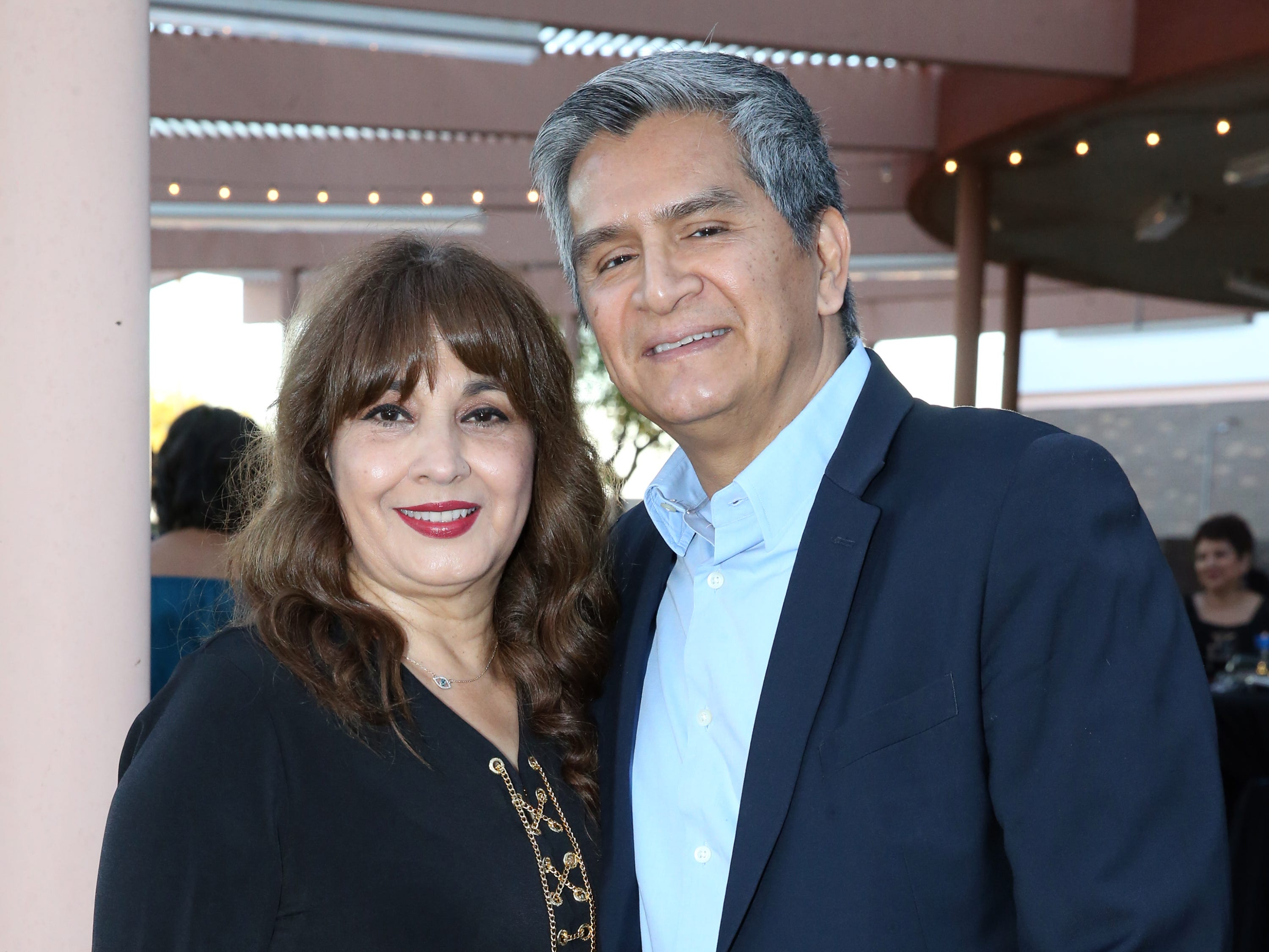 Javier and Leticia Arriaga.
