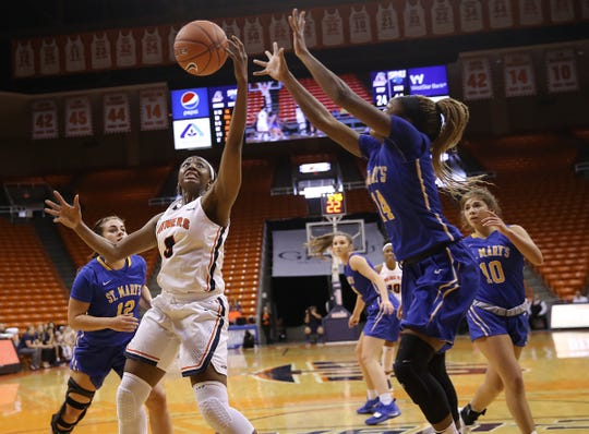 UTEP held their final tune-up game Sunday with a 70-51 win over St. Mary's. UTEP opens their regular season Saturday against Alcorn State.