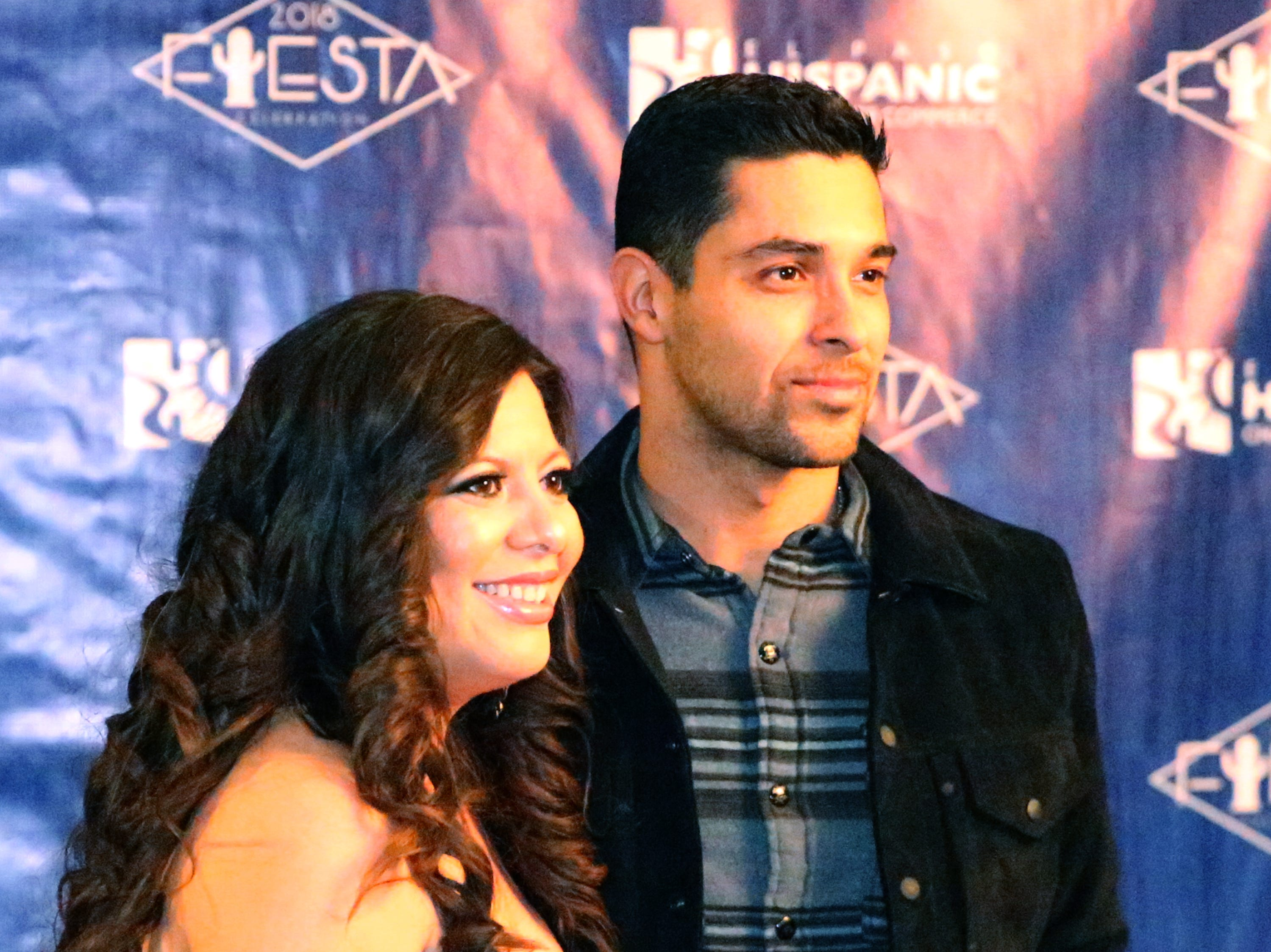 State Rep. Mary Gonzalez poses for a photo with actor/producer Wilmer Valderrama during a reception during the El Paso Hispanic Chamber of Commerce' 28th annual Fiesta Celebration Saturday. Valderrama was the featured guest at the event.