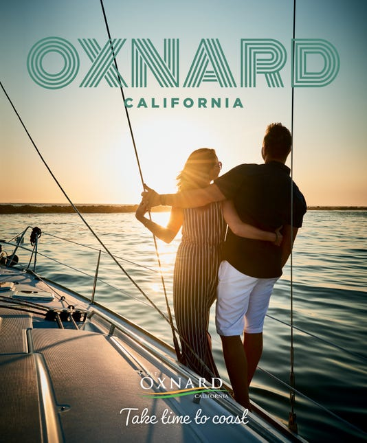 Visit Oxnard Cover For Poster