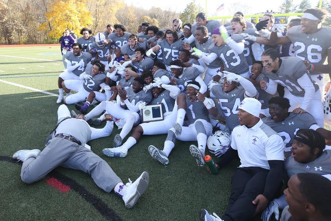 New Rochelle defeated John Jay (EF) to win the Section 1 championship game at Mahopac High School Nov. 3,  2018.