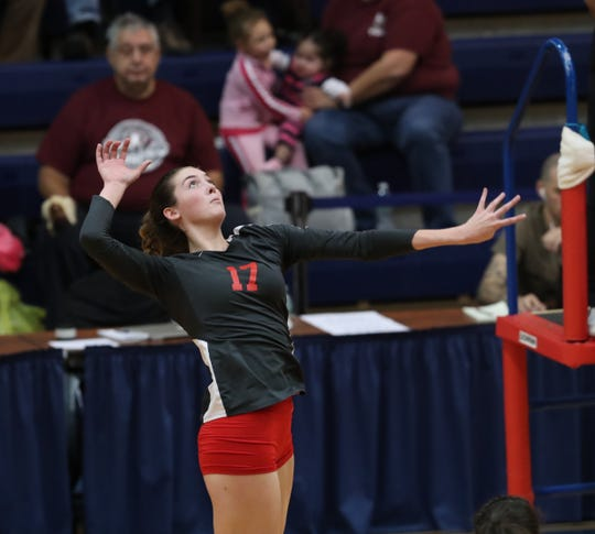 Annie McCarthy is a first-team all-Rockland selection.
