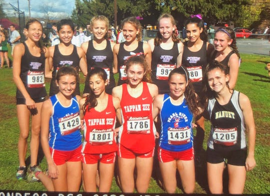 John Jay-Cross River's winning team and other girls Class B qualifiers for States