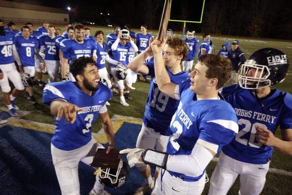 Dobbs Ferry defeated Woodlands to win the Section 1 Class C championship game at Mahopac High School Nov. 3, 2018.