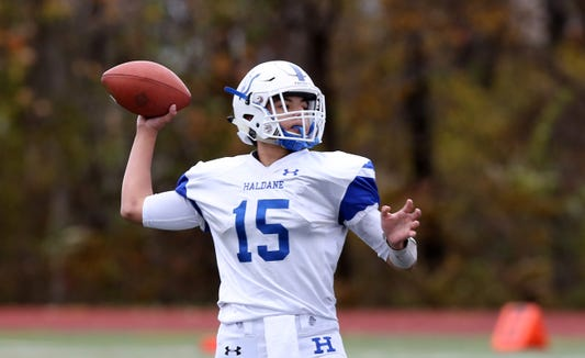 Haldane defeated Tuckahoe 18-6 to win the Section 1 Class C championship game at Mahopac High School Nov. 3,  2018.