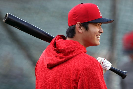 Shohei Ohtani hit 22 home runs and had a 3.31 ERA in 10 starts for the Angels.