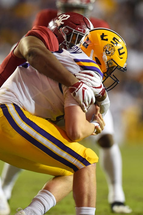 Ncaa Football Alabama At Louisiana State