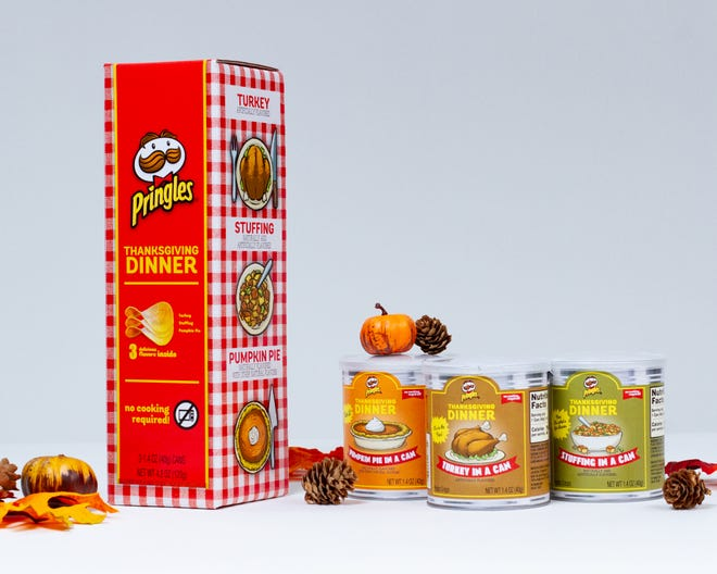 Pringles has created Thanksgiving-inspired chips.
