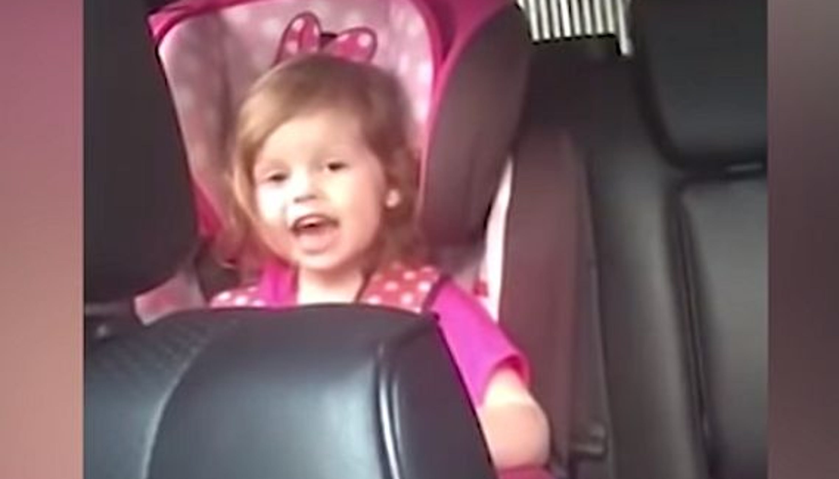 Cutie head-banging toddler rocks highs and lows of Queen's 'Bohemian Rhapsody'