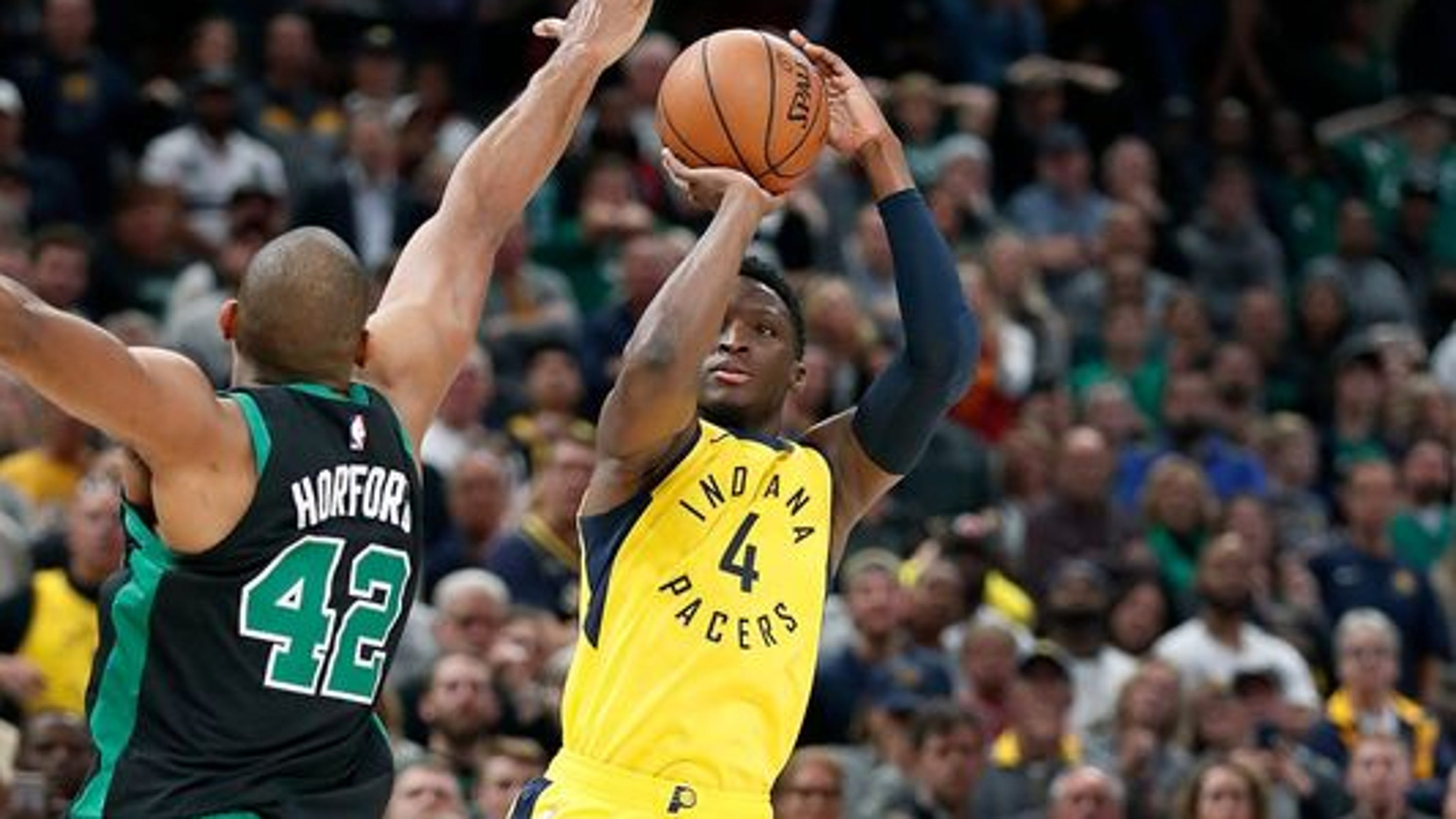 2e3f1616364b Victor Oladipo s dramatic 3 gives Pacers statement win over Celtics
