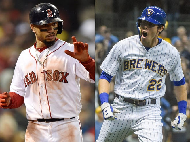 Mookie Betts and Christian Yelich are expected to win the Most Valuable Player awards.