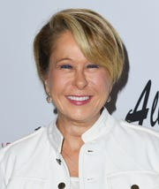 "LOS ANGELES, CA - Yeardley Smith attends ""All Square"" Los Angeles Premiere at iPic Theaters on October 2, 2018 in Los Angeles, California.  (Photo by Jon Kopaloff/Getty Images)"