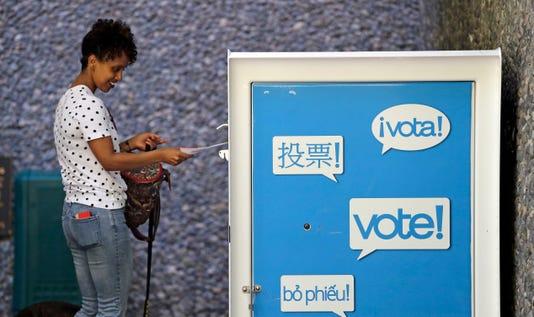 Ap Election 2018 Ballot Counting West Coast A Eln File Usa Wa