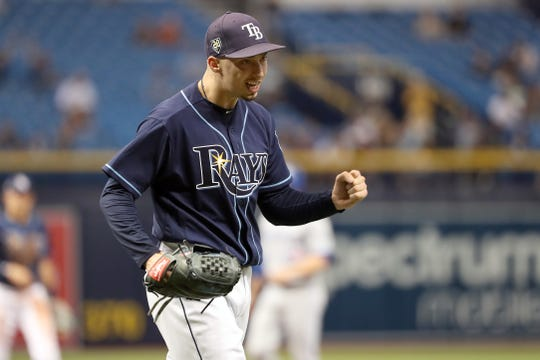 Rays lefty Blake Snell went 21-5 with a 1.89 ERA.