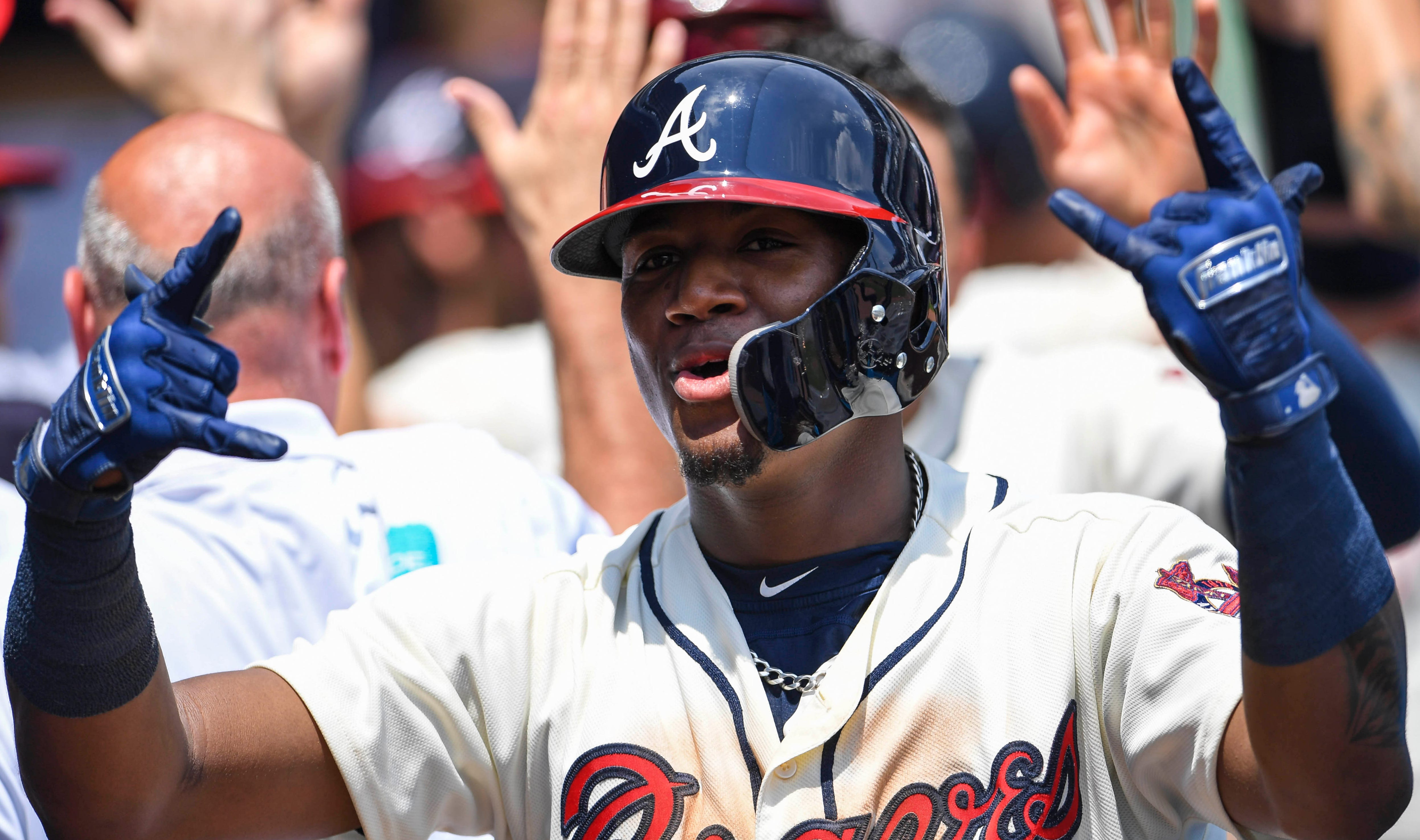Braves outfielder Ronald Acuna Jr. hit 26 home runs.