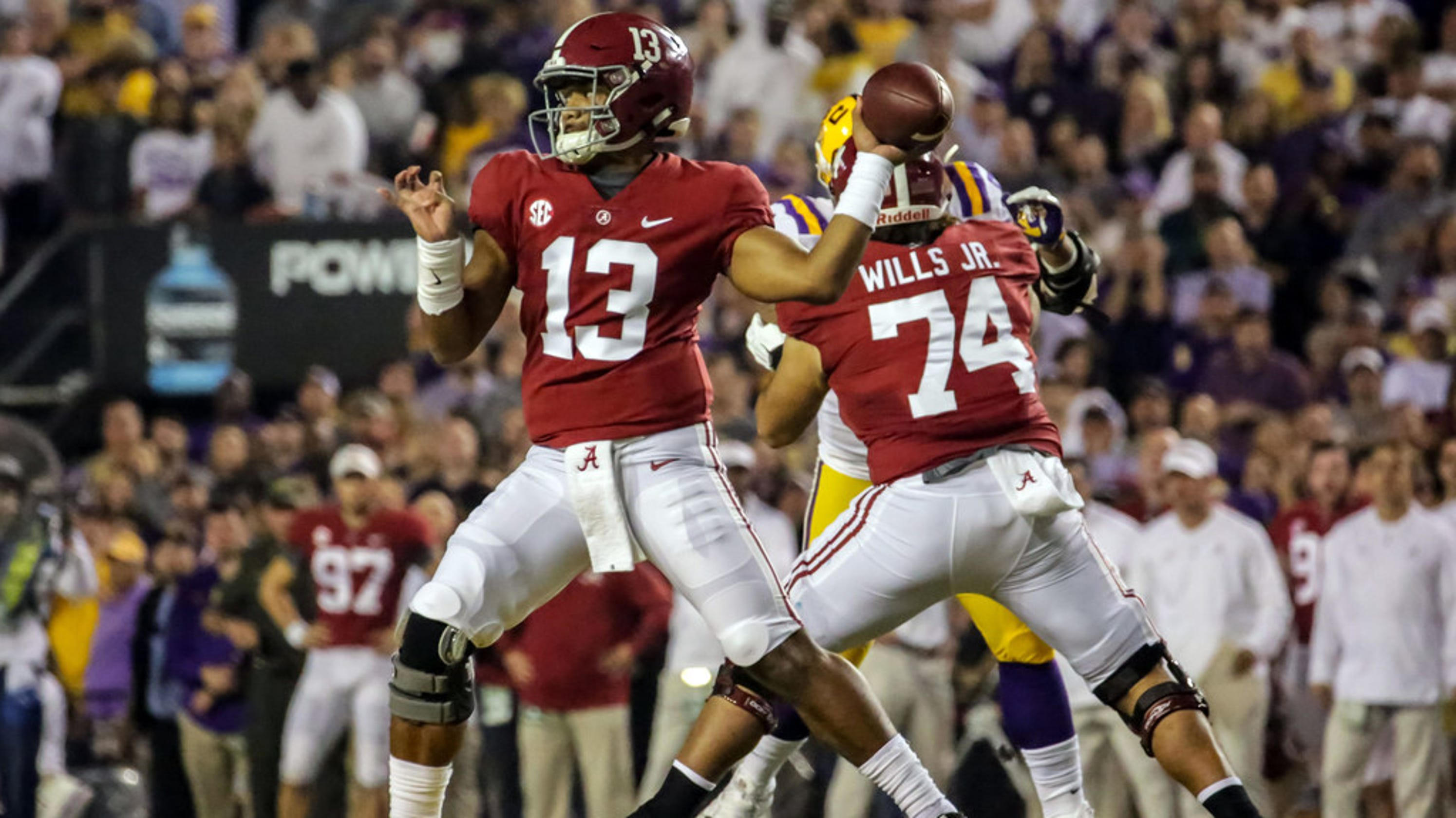 1 Alabama dominates with shutout of No. 4 LSU to lock up SEC West title 06f53b718