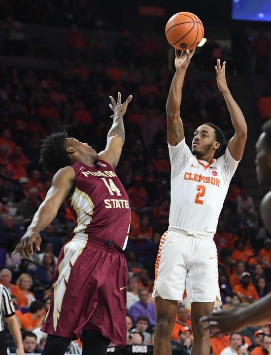 Basketball 2018 Clemson Florida State