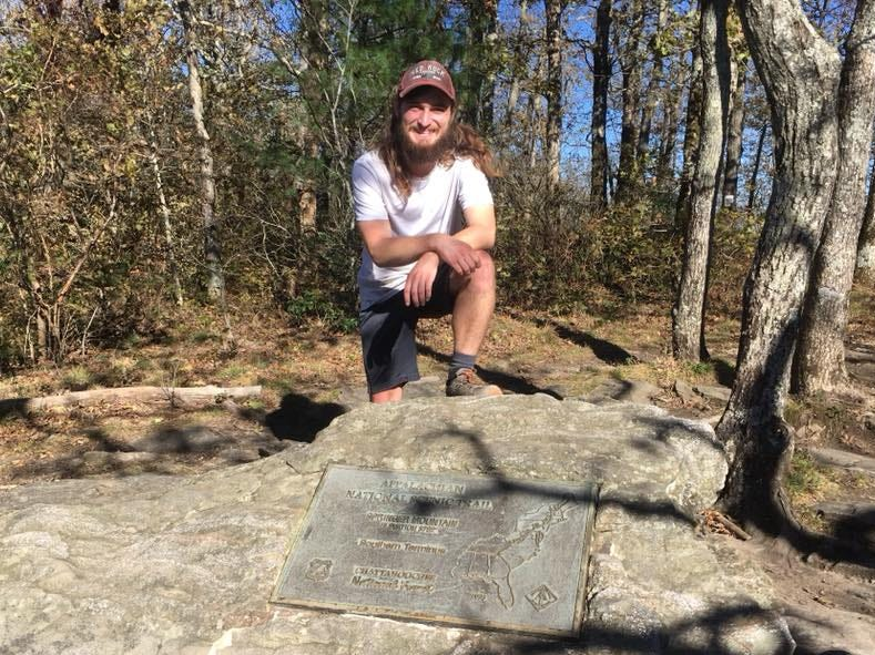 Zach Jones, an Appleton North High School graduate, hiked the 2,200-mile Appalachian Trail this year. He began the journey in June and finished in late October.