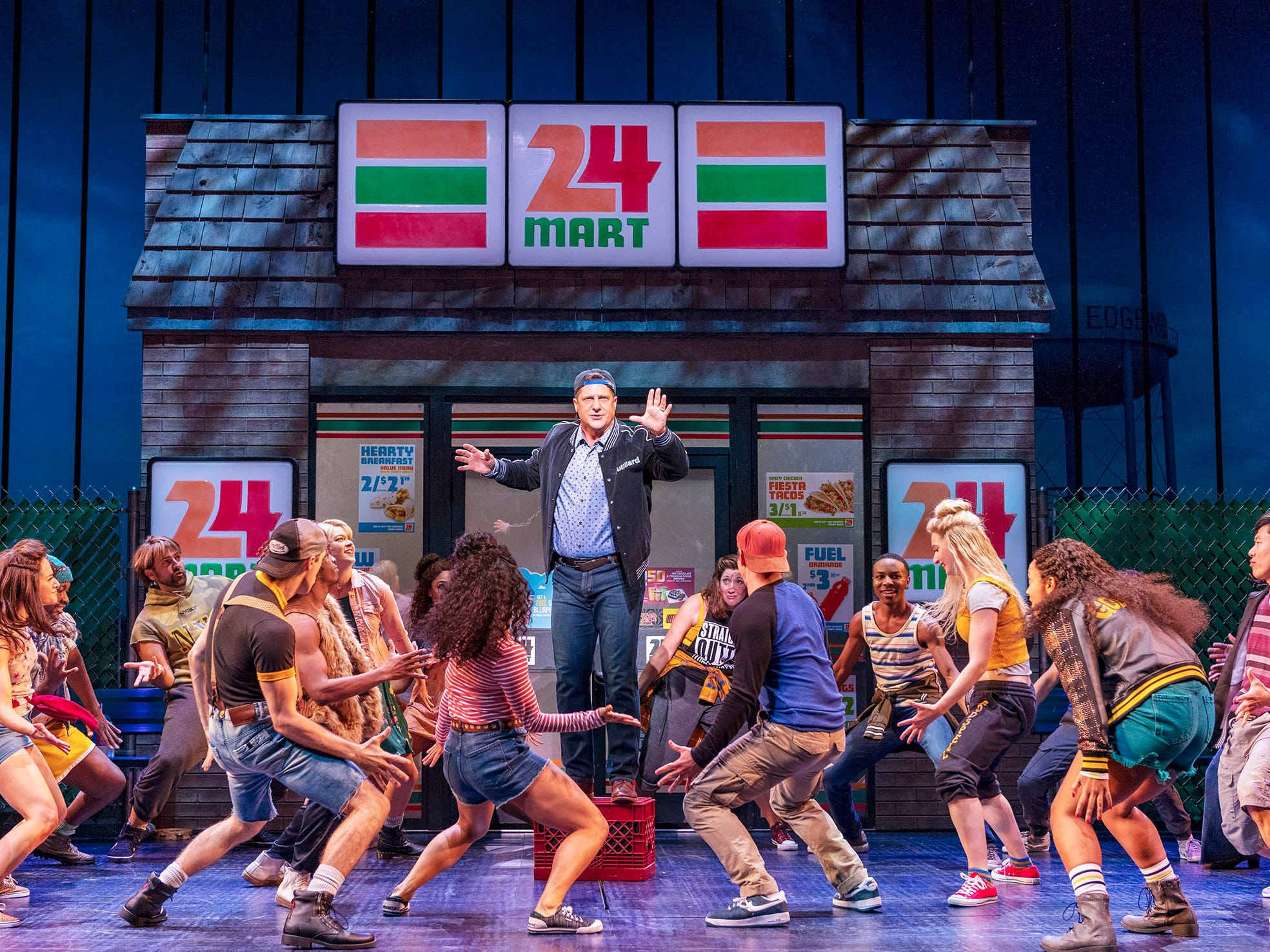 Broadway: Don't tell 'The Prom' star Christopher Sieber to break a leg